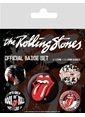 Pyramid International Rozet Seti - Rolling Stones Classic BP80465 Renkli